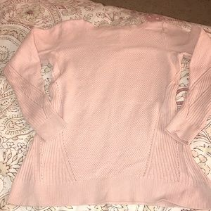LOFT Petite Boat Neck Sweater